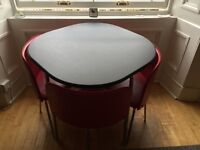Hygena Ampora table and chairs