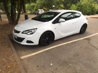 VAUXHALL ASTRA GTC SPORTS TURBO 2015 ONLY 9000 MILES With Excellent Condition
