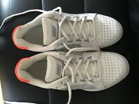 Nike white and coral trainers size 6. Worn once