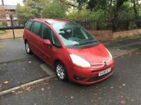 2008 CITREON GRAND PICASSO 2.0 HDI DIESEL AUTOMATIC 10 MONTHS MOT SERVICE HISTORY 7 SEATER BARGAIN!
