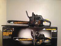 Mc culloch chain saw cs400t