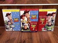 Disney Toy Story 1 & 2 DVD box set collection (special edition)