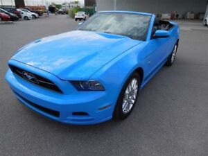 2013 Ford Mustang PREMIUM,V6,A/C,MAGS,CUIR,SEULEMENT 42827 KM