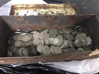 Over 300 antique coins