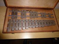 glockenspiel in wooden box