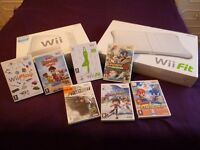 Nintendo Wii Console + Wii Fit and Board