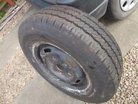 transit wheel with NEW hankook tyre 225 75 16c