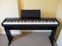 Casio CDP 100 Digital Piano with Weighted Keys and stand