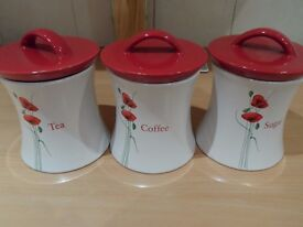 Poppy Canisters