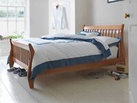 Brand New Solid Wood Double Sleigh Bed