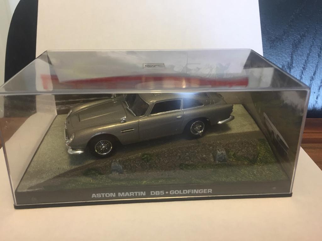 james bond 1:43 scale diecast car goldfinger | in inch, edinburgh