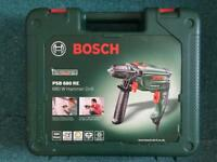 Bosch corded hammer drill and drill bit set