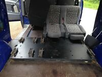 Mercedes Vito Crew Cab 111Cdi seat Plate/Anchor points