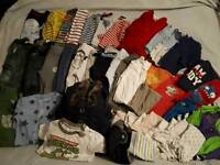 mixed variety of baby 🚼 boys 👦 6-9 bundle everything you need