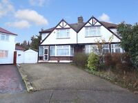 EXTENDED THREE BEDROOM SEMI- DETACHED HOUSE AVAILABLE TO RENT IN BIRCHWOOD COURT, EDGWARE HA8