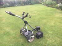 Pro Rider electric golf trolley, battery and charger