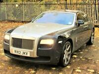 ROLLS-ROYCE GHOST 4dr Auto (blue) 2012