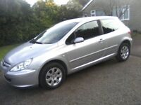 PEUGEOT 307 1-6 SPECIAL 16v 3-DOOR 2005. 97,000 MILES, STRATOS SILVER METALLIC, MAY 15th 2018 MOT.