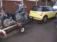 trailer takes most motorcycles