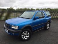 1999 T VAUXHALL FRONTERA 2.2 DTI SPORT RS *DIESEL* 3 DOOR 4x4 - *JUNE 2018 MOT* - GOOD EXAMPLE!