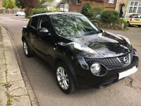 Nissan Juke 1.6 Tekna, Full Service History, Low Mileage,Sat Nav,Bluetooth,Reverse Camera,Push Start