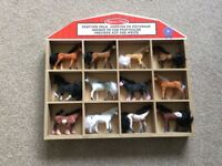 Horse Collection and Display Case - includes 12 horses - Melissa & Doug Pasture Pals - with box