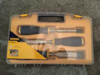 Brand new Irwin Maples 3 piece chisel set
