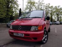 Mercedes Vito Campervan 1999-2000 ready for summer
