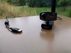 HD Webcam & Mic - almost new, used only a few times