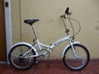 "Saxon 'Fold It' Folding Bike (13"" steel frame)"