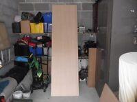 Oak end panels 2140mm x 600mm