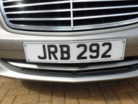 Personalised Car Reg. Plate - JRB 292