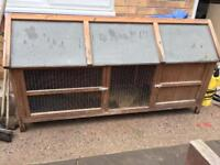 Large rabbits hutch