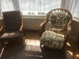 2 chairs free to carry collector from kingswood