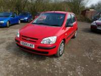 2005 Hyundai Getz - 1.5L  Manual Diesel - Runs and drives great! 60MPG, cheap to insure