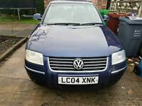 VW PASSAT 1.8T 2004 LOW MILEAGE