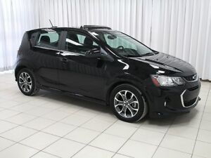 2018 Chevrolet Sonic LT RS TURBO 5DR HATCH
