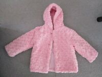 Girls Pink Coat (Age 4-5)