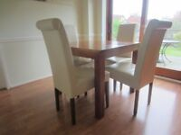 Zone dining table and chairs