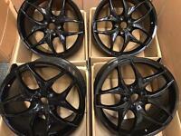 "20"" inch 5x120 Gloss Black Alloy Wheels Rims fits: BMW X5 E53"
