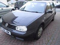 (2001) Y Volkswagen Golf 1.4 - # Spares Or Repair # Start's, Runs ,Drives