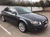 2007 AUDI A4 2.0 TDI SE, BOSE AUDIO, FULL SERVICE HISTORY, GREAT CONDITION, PARROT HANDSFREE
