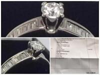 Beautiful 18 Carat Gold Diamond Ring