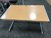 1200m Oak Desks - 18 Available