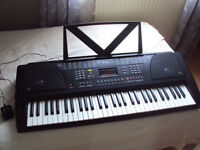 Multifunction electronic ARK-2172 music keyboard funkey 61 with original box