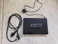 Panasonic DVD player with scart lead