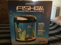 Interpret Fish Pod Moon Aquarium-Unopened/New