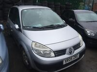 2005 Renault scenic diesel great runner no tax test hence price Px too clear