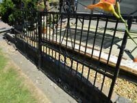 Plastic Coated Iron Gates / Drive Gates