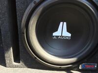 12 Inch Subwoofer/Ported Box/Amplifier